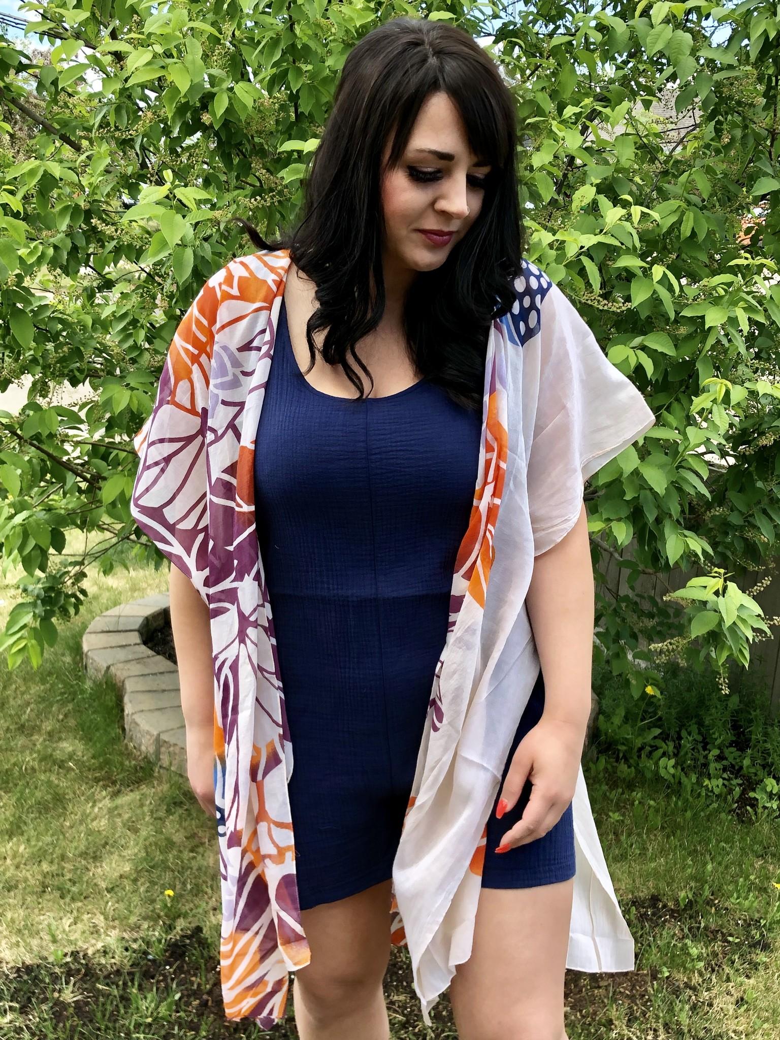 Lily Floral Kimono