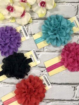 Kids Flower Stretch Headband