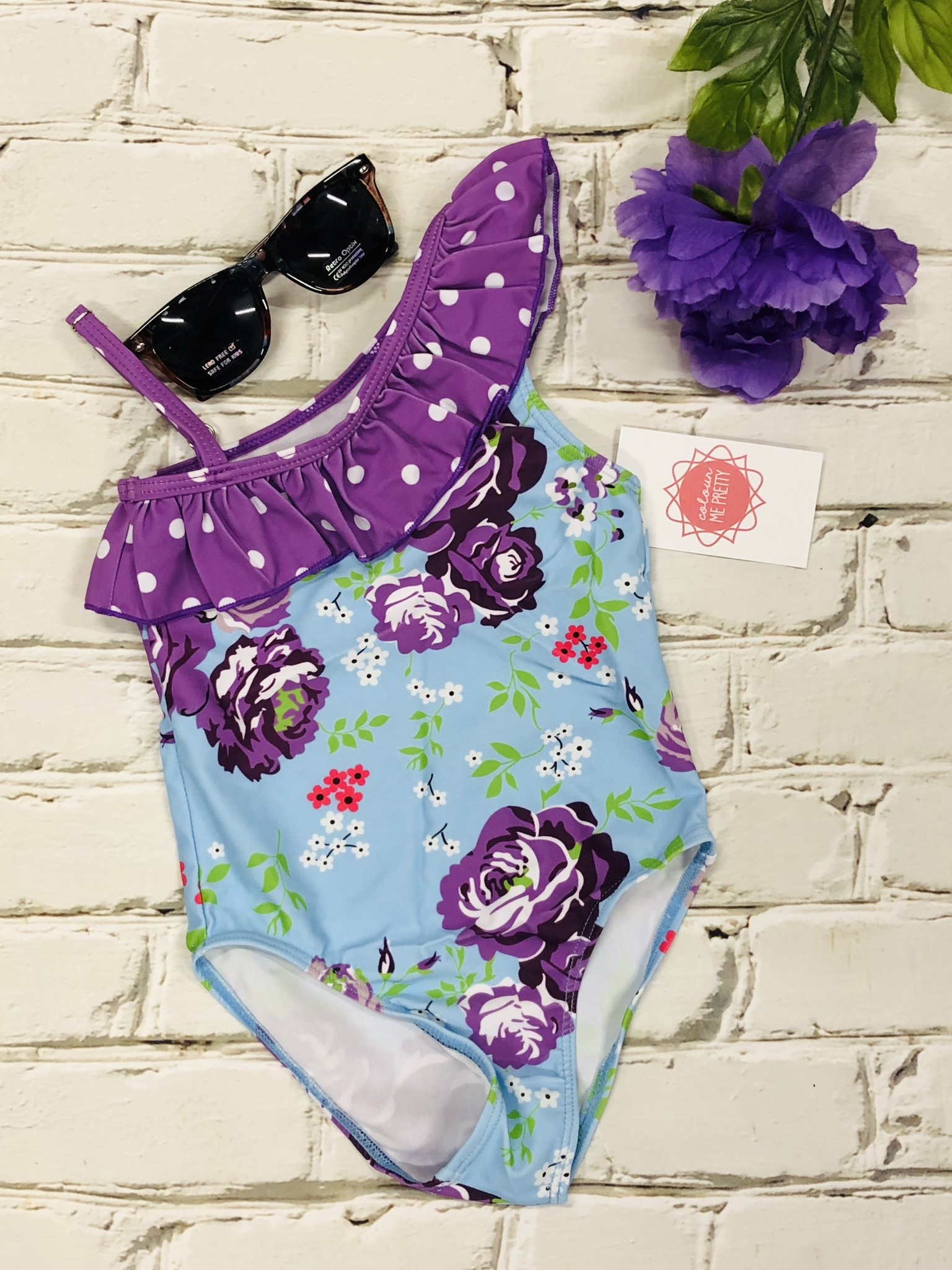 Kids Poolside Ready Swimsuit