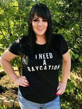 Baycation Tee - Round Neck
