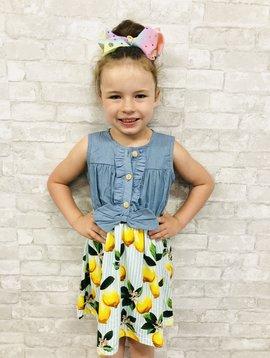 A Squeeze Of Lemons Dress