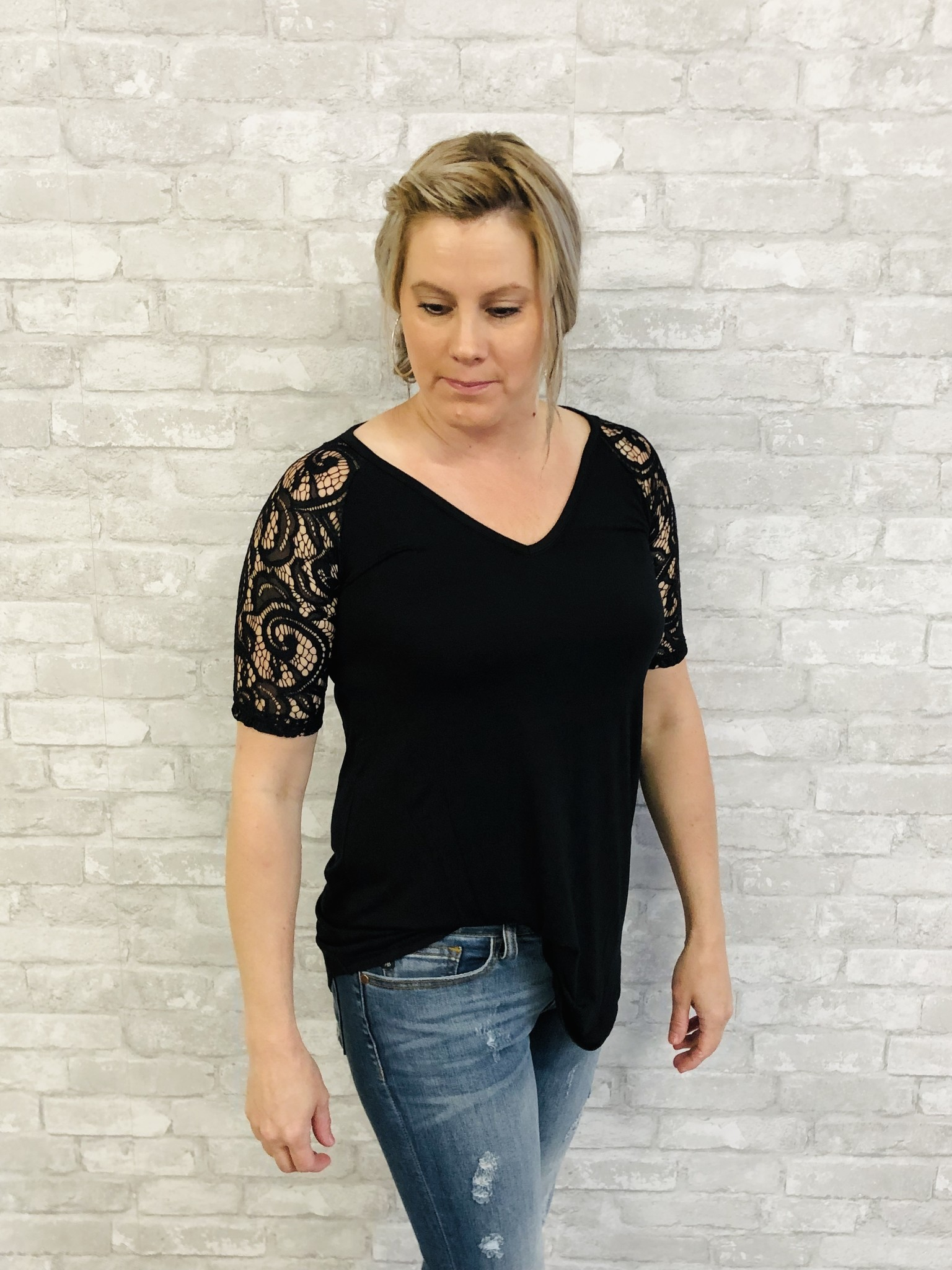 Laced & Basic Top