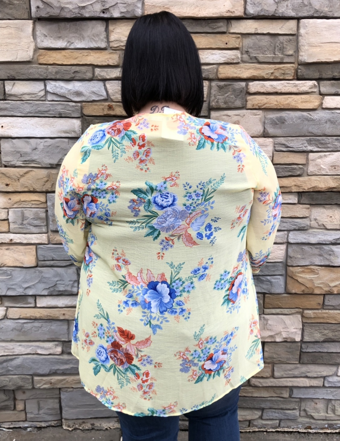 Sunshine Floral Kimono