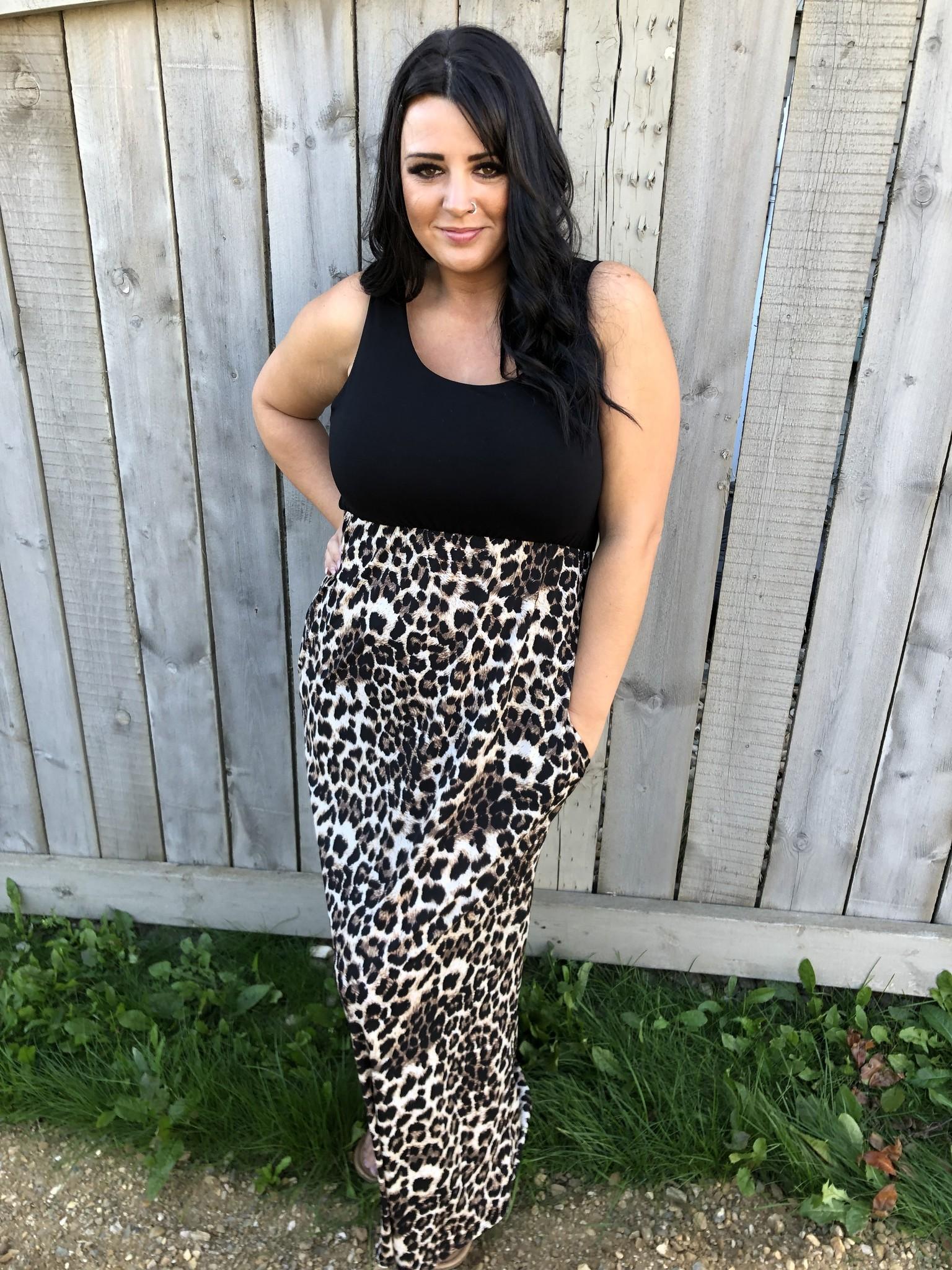 Crazy 'Bout Leopard Maxi
