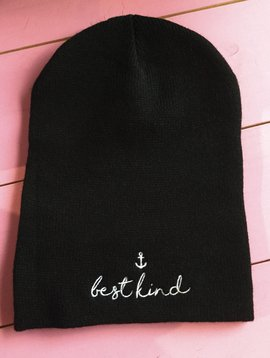 "SWD ""Best Kind"" Beanie-Black"