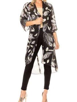 Feathers Away Kimono