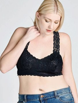 Curvy Lace Bralette