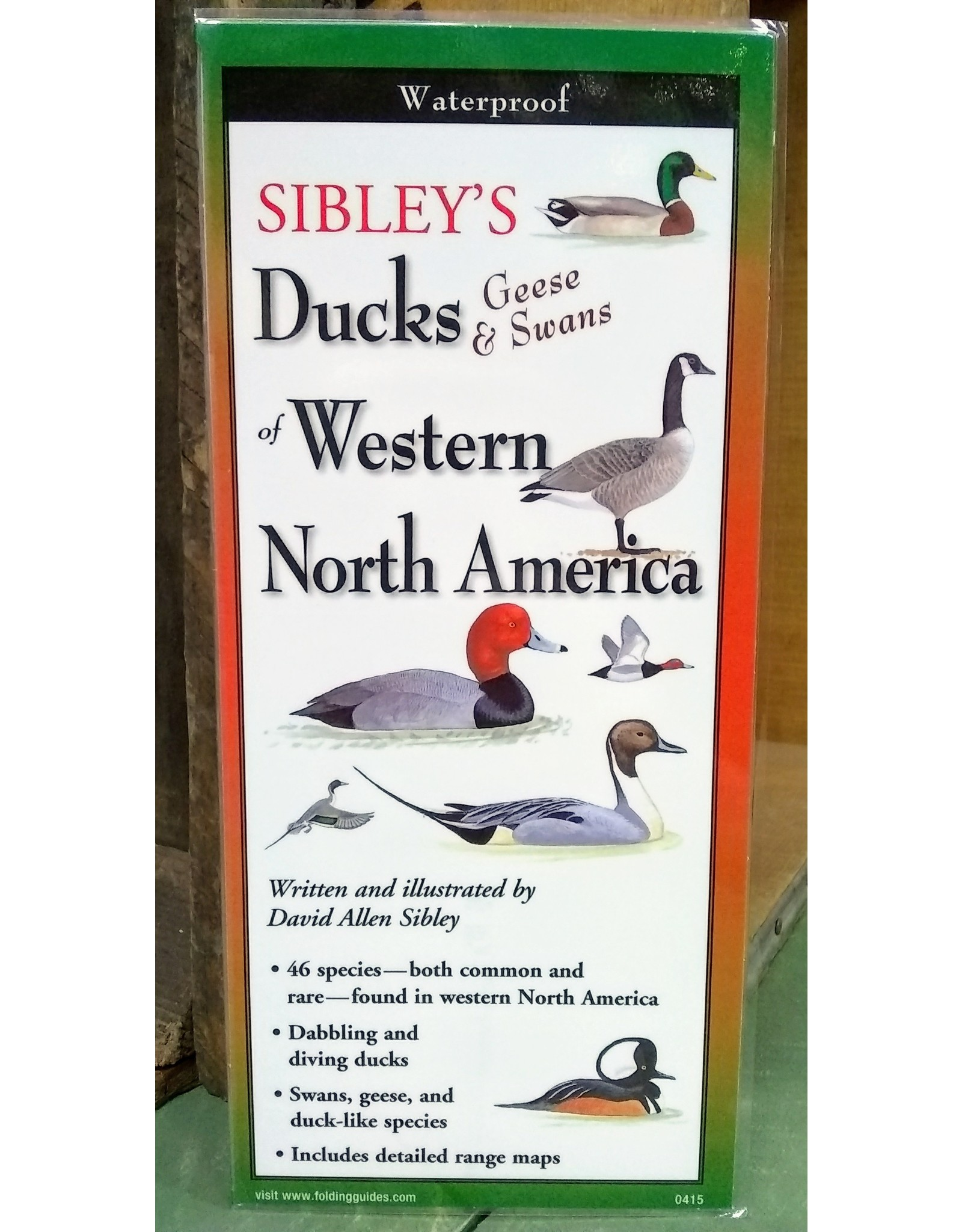 Sibley's, Ducks, Geese, & Swans of Western N. America, Quick Guide