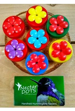 Gold Crest Dist. Hummingbird Feeder, Wildflower Nectar Dots, NDW34
