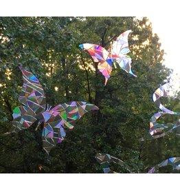 Baby Cricket Window Gems, Butterflies, Prism, protect birds from window, 8/pkg.