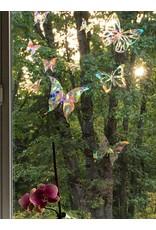 Baby Cricket Window Gems, Butterflies, Prism, protect birds from window, 15/pkg.