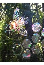 Baby Cricket Window Gems, Honey Bee Design, 15 pieces, Local, Never Fade