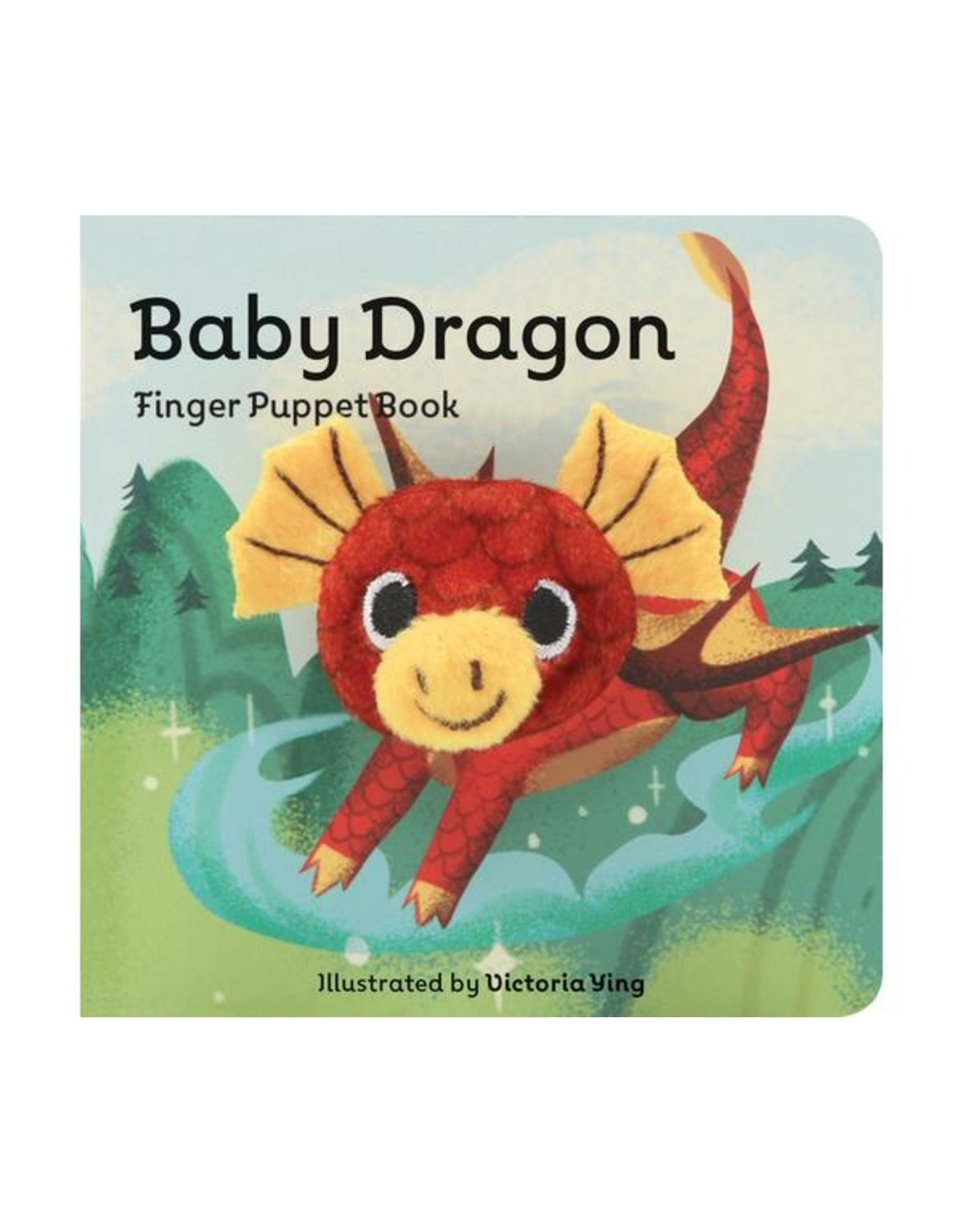 Book, Baby Dragon finger puppet book, BD