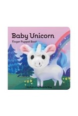 Book, Childrens, Baby Unicorn, Finger Puppet, GC