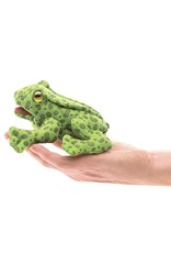 Folkmanis Puppet, Finger, Mini Frog, 2761