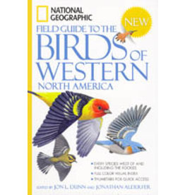 Book, National Geographic, Bird Field Guide of W. N. America