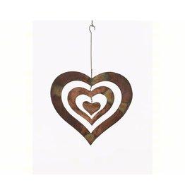Outdoor Decor, Medium Heart, Metal, ANCIENTAG87053