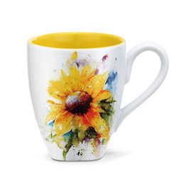 Mug, Dean Crouser Art, Sunflower, Ceramic
