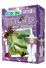 Professor Noggin Game, Cards, Insects and Spiders, Prof Noggins, OM11402