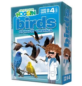 Professor Noggin Game, Cards, Birds of NA, Prof Noggins, OM11404