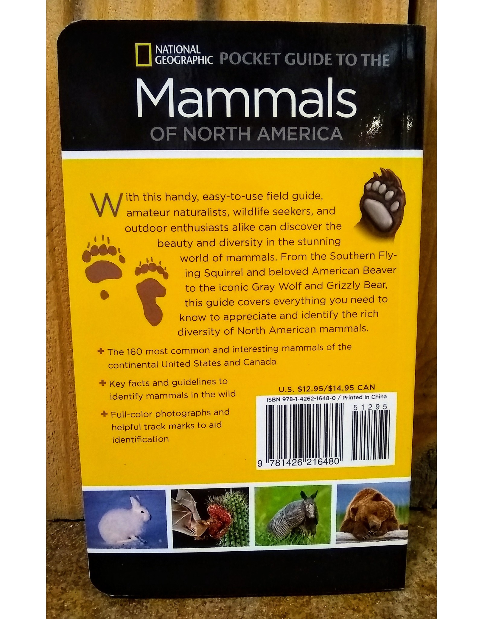 Book, Mammals of North America, Nat Geo. Pocket Guide