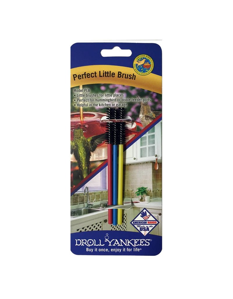 Droll Yankees Brush, Perfect Little Brush for hummingird feeders, DYPLB