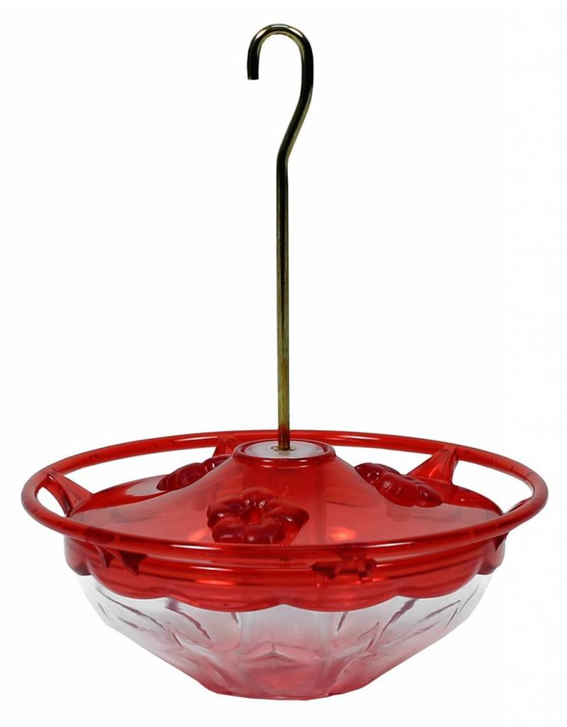 Aspects Hummingbird Feeder, Humm Blossom, Rose, 4 oz, ASPECTS433
