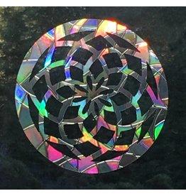 Baby Cricket Window Gems, Sacred geometry/Flower of Life Mandala, Pack of 3, LOCAL!