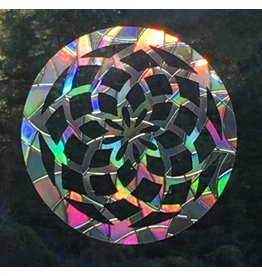 Baby Cricket Window Gems, Sacred Geometry Mandala, Pack of 3, Made in Mt Shasta!