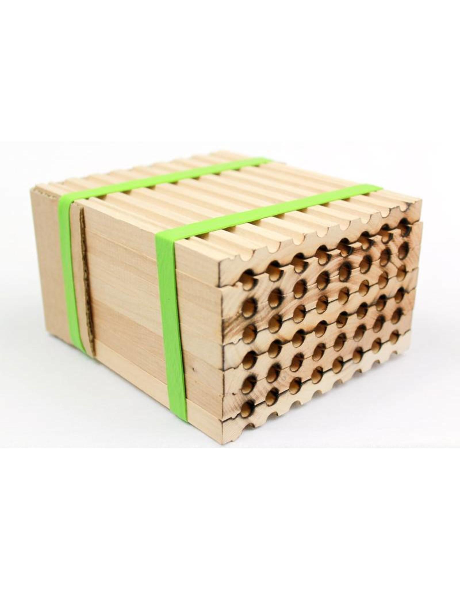 Mason Bee, Medium wood tray only, 48 hole