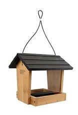 Bird Feeder, Bamboo, Hopper 4 lb., NWBWF16