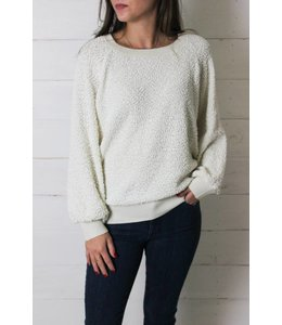 Others Follow The Miles Textured Pullover