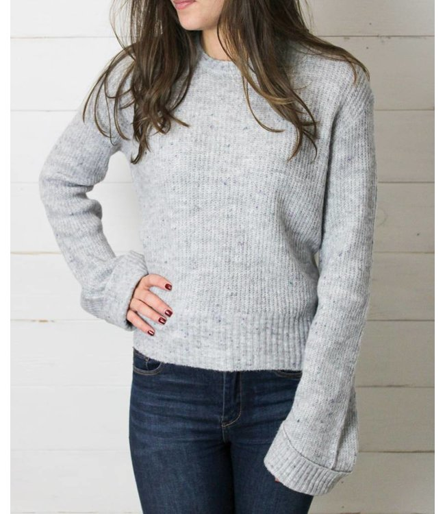 Rag Poets The Marina Cropped Sweater