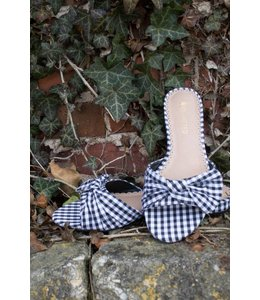 Restricted Footwear Gingham Open Toe Sandal
