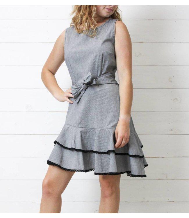 BB Dakota The Holly Golightly Gingham Dress