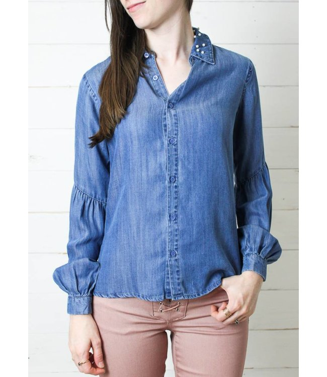 DBA Tractr The Aaron Button Down Top