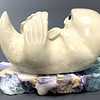 Stella The Soapstone Sea Otter #111 - SOLD