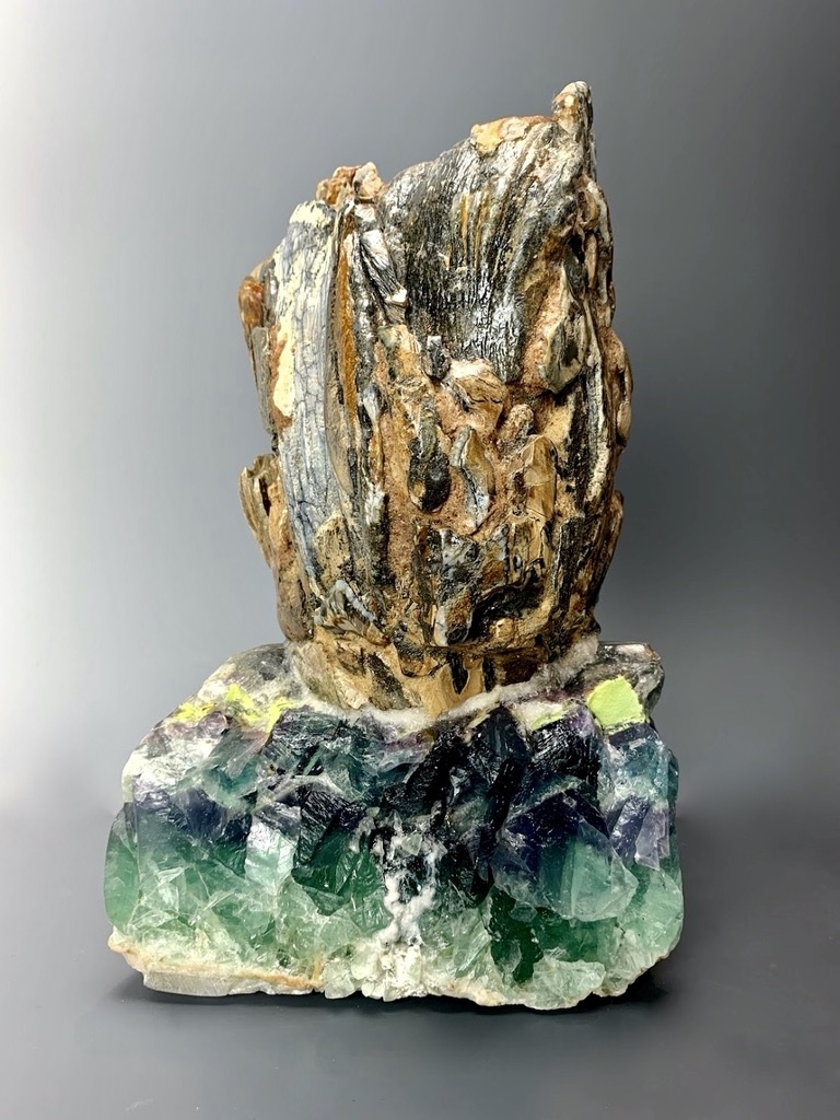 """""""Maurine"""" Mammoth Fossil Carving (#127)"""