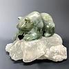 Abbey - Soapstone Bear Sculpture #142 - SOLD
