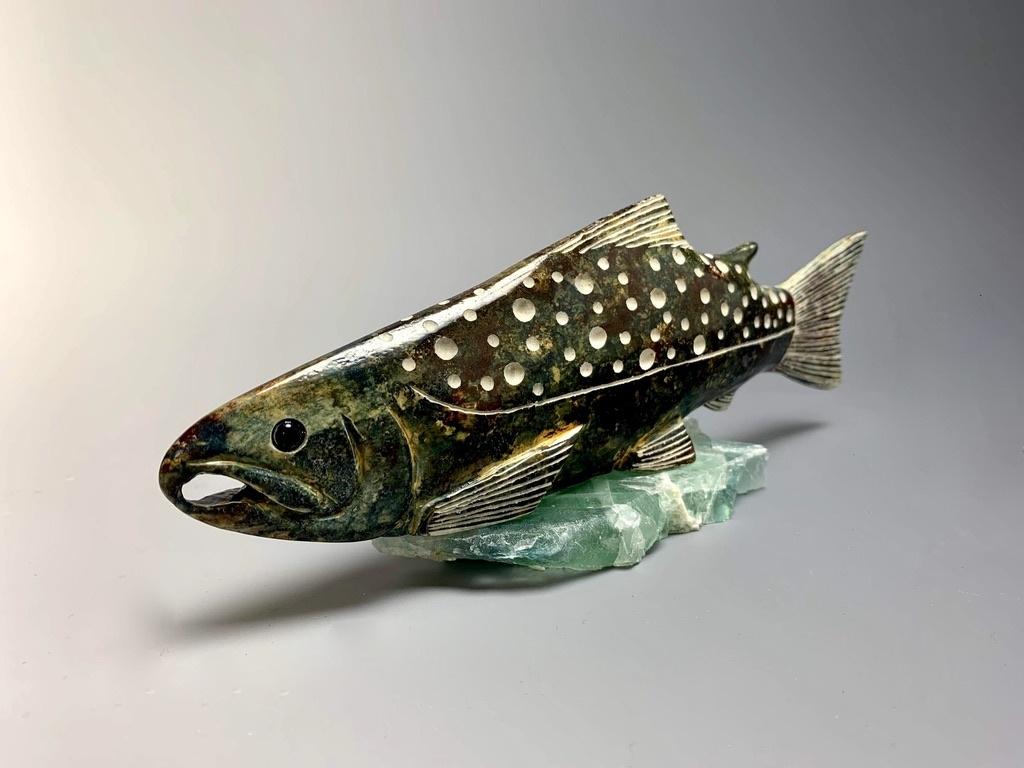 """""""Salmon"""" Soapstone (#176)"""