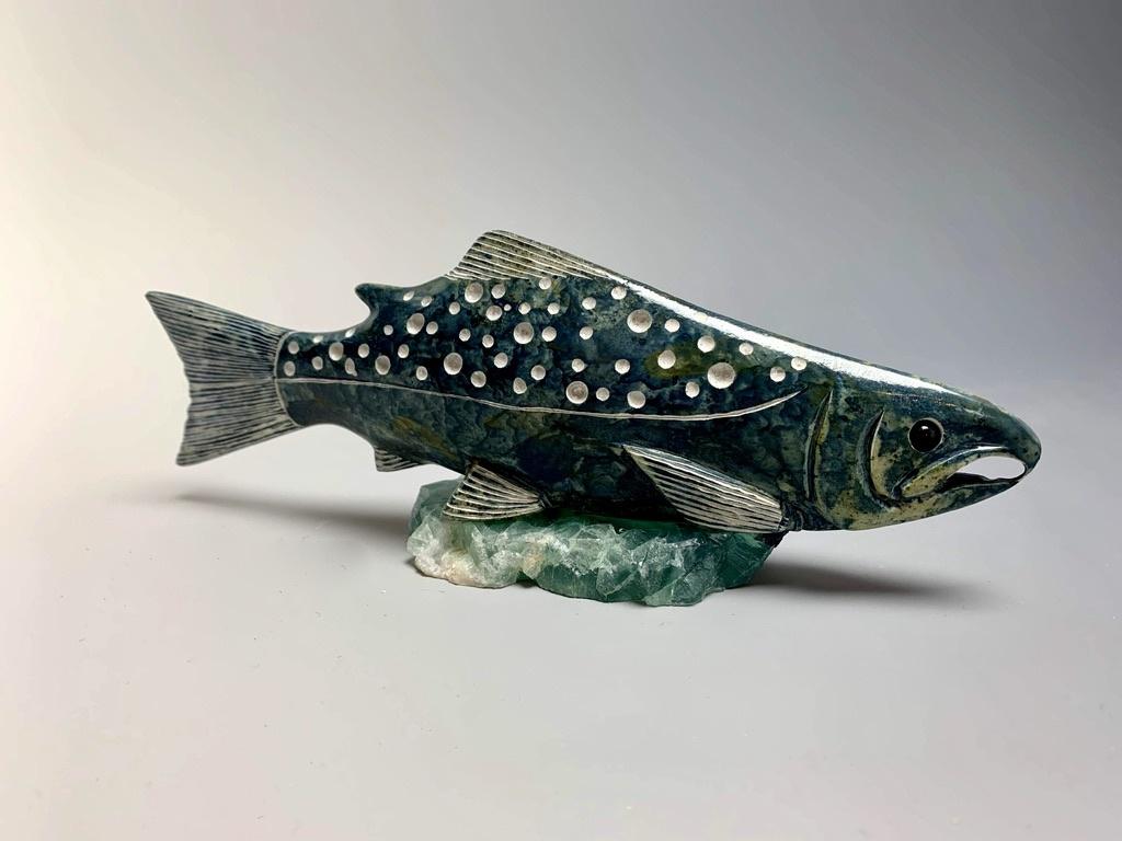 """""""Salmon"""" Soapstone (#177)"""