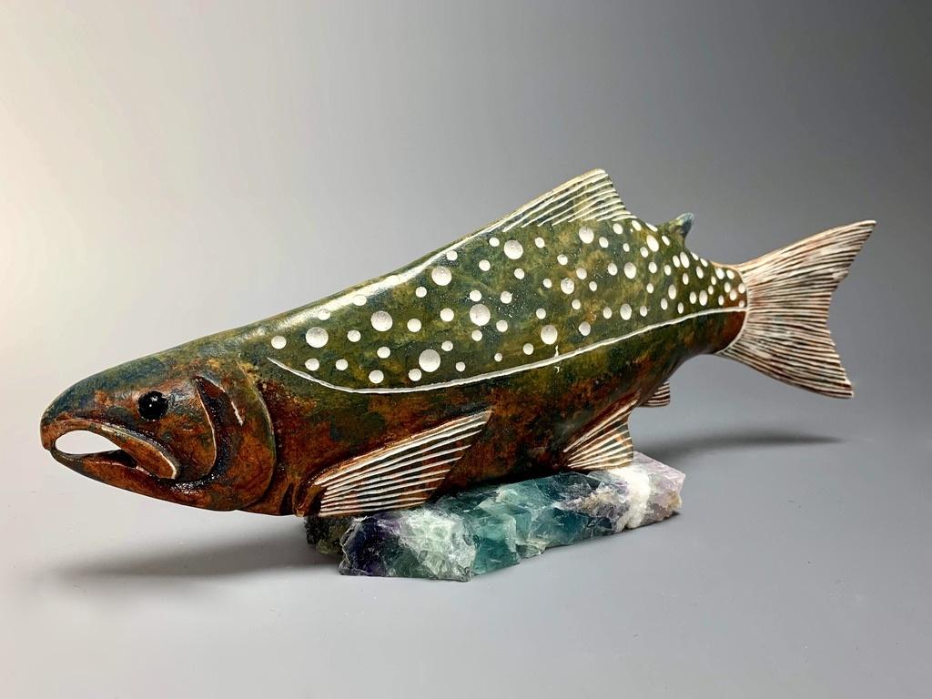 """""""Salmon"""" Soapstone (#182)"""