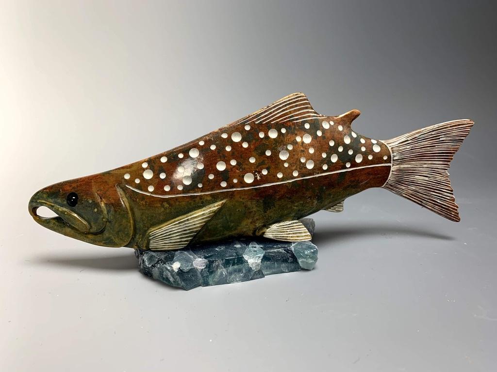 """""""Salmon"""" Soapstone (#183)"""