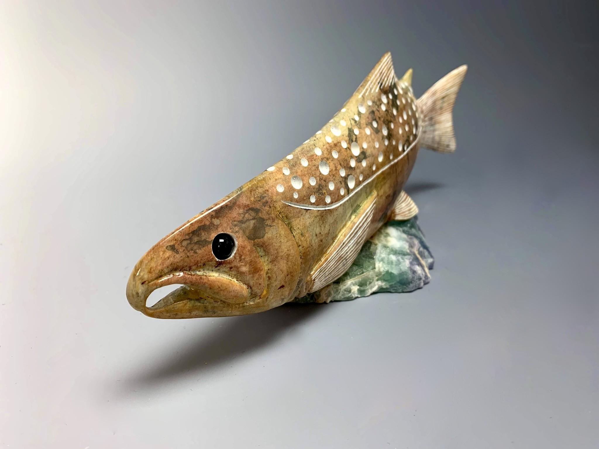 Salmon - Soapstone #185