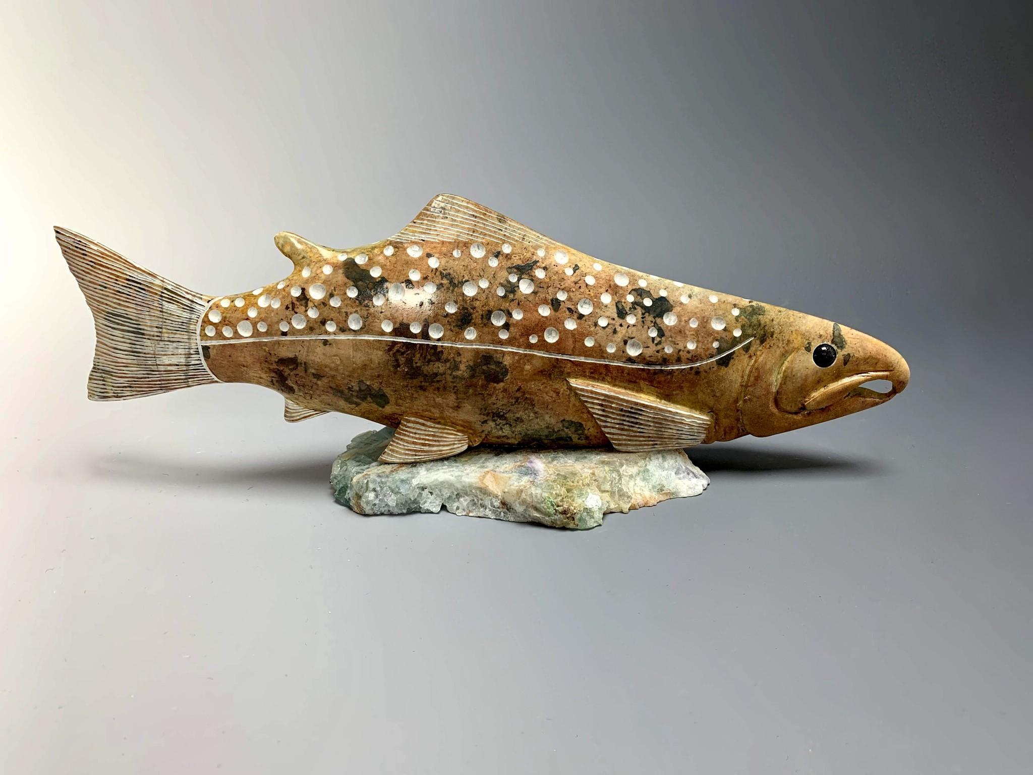 """""""Salmon"""" Soapstone (#185)"""