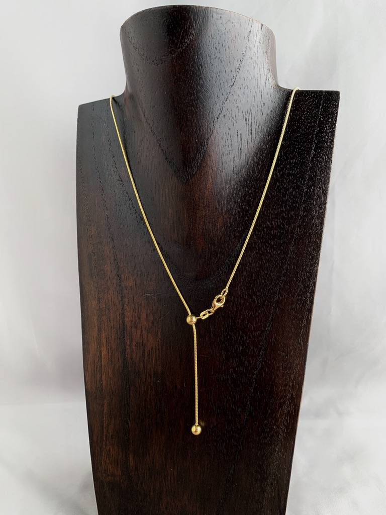 "24"" Gold Plated Adjustable Chain"