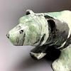 Penelope - Soapstone Polar Bear Sculpture#248 - SOLD