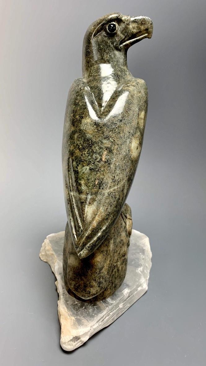 Eagle - Soapstone Carved Sculpture #230