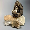 -Mammoth - Fossilized Mammoth Tooth Carved Sculpture #229