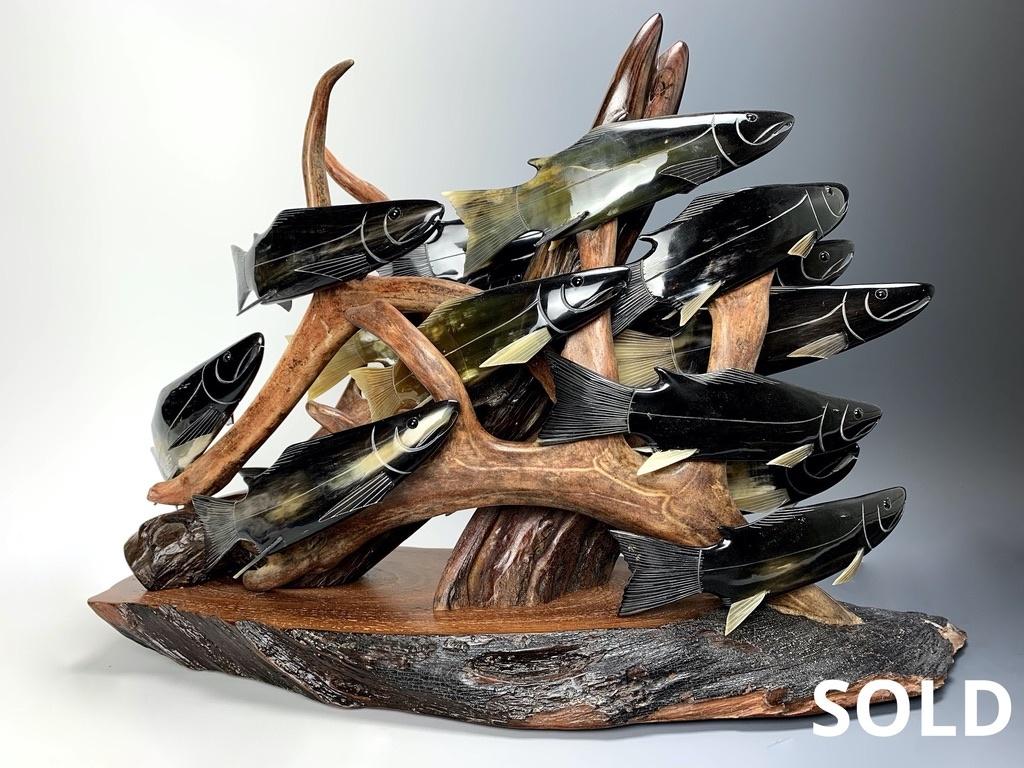 """""""Spawning Salmon"""" (#140)"""